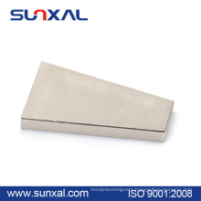 High quality strong power permanent wind turbine sintered ndfeb magnet