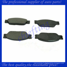 D1065 D933 AT1065 C2C20686 C2C23786 plaquette de frein en céramique pour jagura s type xj8