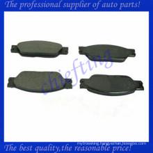D1065 D933 AT1065 C2C20686 C2C23786 ceramic brake pad for jagura s type xj8