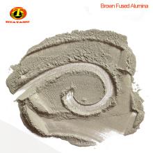 Brown aluminum oxide powder abrasive for stone polishing