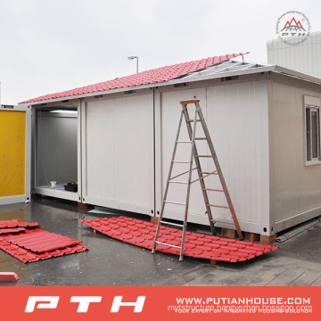 China Economic Container House with Balcony for Comfortable Living