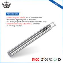 Ч. 5 vape ручка 0,5 мл керамический Нагревательный изготовленным на заказ Логосом Устранимый Вапоризатор ручка Амазонки