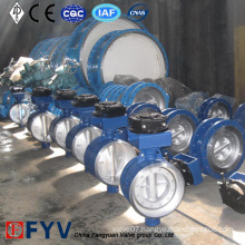 Pneumatic Butterfly Valve Stainless Steel