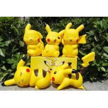 Mini Nette Kundenspezifische Pokemon PVC Action Figure Puppe Kinder Spielzeug