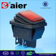 Interruptores a prueba de agua 12V iluminados