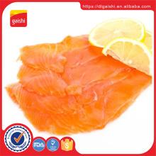 Salmão de peixe congelado IQF de alta qualidade