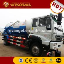 15m3 Abwasserablass LKW 6x4 Abwasser Saugwagen Abwassertanker zu verkaufen