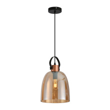 Luxury Glass Bowl Pendant Lamp for Coffee