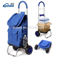 2018 Hot sale for shopping good quality foldable trolley bag