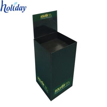 Advertising Pop Cardboard Dump Bin,Paper Material Recycling Dump Bin Display Stand