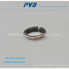 P11 Buchas de colarinho, bucha de bronze sinterizado, bucha de bronze rolamento de parede fina