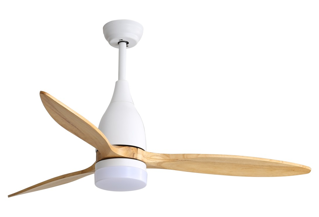drum style ceiling fan with light