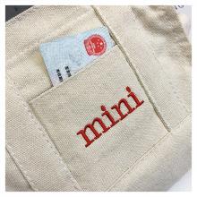 Leinwand Student Messenger Girl Handtasche Stickerei