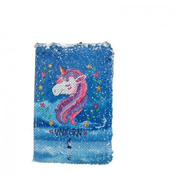 UNICORN SEQUINS NOTEBOOK -0