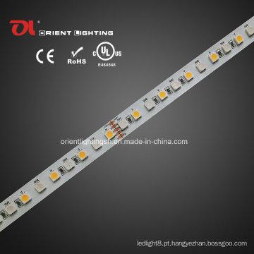 Iluminação LED UL High CRI Epistar 5050 RGBW Faixa Flexível