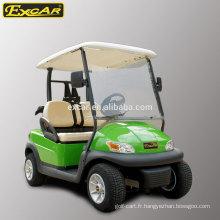 Chariot de golf 2 places