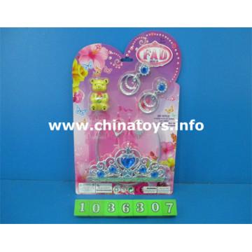 Cadeau promotionnel en plastique fille jouets beauté ensemble (1036307)