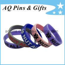 Custom Bracelet Wristbands with Color Filled for Kids