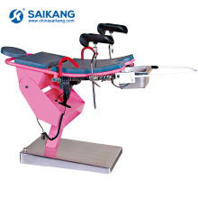 A99F Simple Structure Medical Obstetric Parturition Birth Bed Table