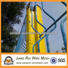colors pvc coated garden wire mesh fence(China manufacturer)