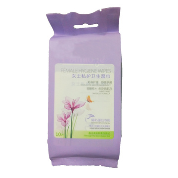 Biologisch abbaubare weibliche Vaginal Clean Medical Hygiene Wipes
