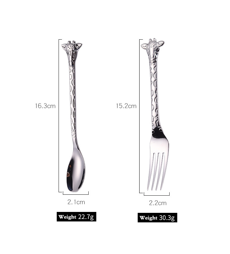 Reusable Titanium Flatware Set