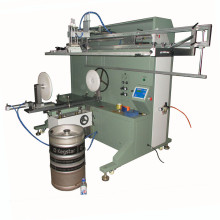 TM-1500e 400mm Large Keg Pipe Screen Printer