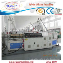 extrusora de doble husillo de plástico para granulación de PVC WPC