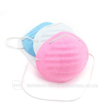 pink blue white Surgical dental PET Disposable dust Cone Mask