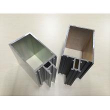Aluminium extrusion profiles for curtain wall