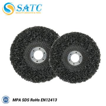 Disco de solapa negro pulido y 60 granos de 5 pulgadas