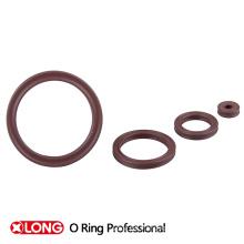 Diseño especial de buena calidad marrón claro x-rings de goma
