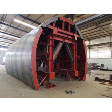 Carro de túnel subterráneo para construcción de hormigón