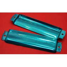 Transparente Pulverbeschichtung / klarer Decklack