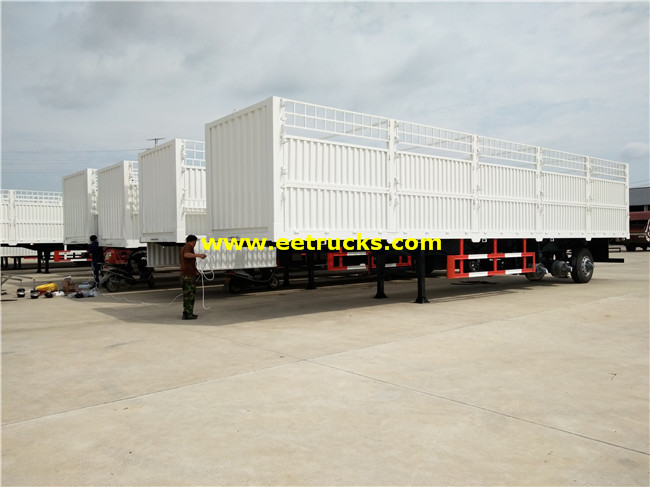Cargo Box Semi Trailers