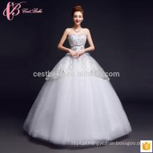 Beading vestidos de biquíni e biquíni de lã multicamada mais barato Alibaba vestido de casamento online