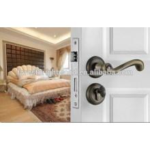 Lockset de porta de madeira interior de aço inoxidável