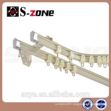 Dragon mart dubai aluminium curved curtain rails