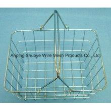 Kitchen Over The Cabinet Door Metal Wire Storage Basket