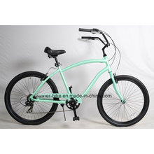 Shimano 7 Speed Alloy Frame Mens Beach Cruiser Bicycle