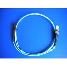 10g Om3 MTRJ-ST/PC Duplex Fiber Optic Patch Cord