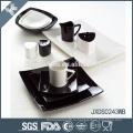 Декаль дизайн оптовой хорошее качество цветной матовой финишной посуды наборы