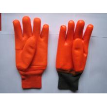 Sandy Finish Schaum Liner PVC Winter Handschuh