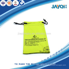 microfiber gift pouch with silk-printing