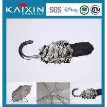 Выдвижной дешевый складной зонтик дождя