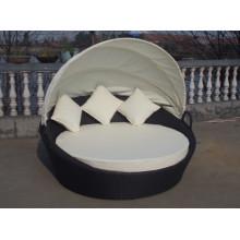 Открытый мебель алюминиевый пляж овальной постели