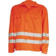 Veste réfléchissante orange légère pour homme