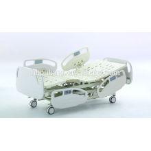 Lit d'hôpital électrique à cinq fonctions avancé avec système d'échelle de poids