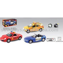DIE CAST ALLOY POLICE CAR - 901019545
