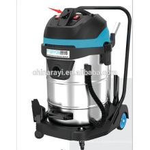 60L / 70L / 80L мощный мокрый и сухой промышленный пылесос для заводской уборки